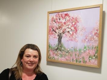 Purple & Pink Tree at Hemel Hempstead
